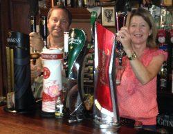 Larry and Mary Egan at Egans Bar Parkbridge