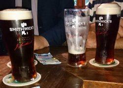 Egans Drinks - Smithwicks With Fine Heads