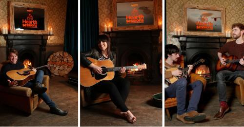 Bord na Móna Hearth Sessions - Bands (John Doherty, Stephanie Rainey, Ye Vagabons)
