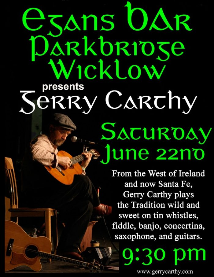Gerry Carthy at Egans Bar Parkbridge