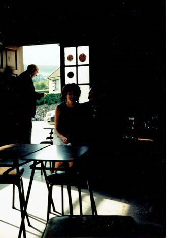 Egans Bar Parkbridge - the Old Bar. This is a photo taken in the bar before renovations - pre 1994